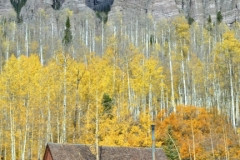 Cabin in Durango CO in fall