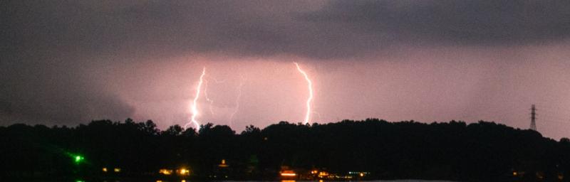 Lightning Catawba, North Carolina