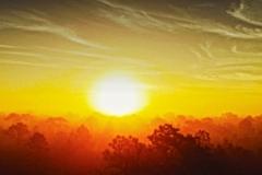 Drone Sunrise Malabar, Florida